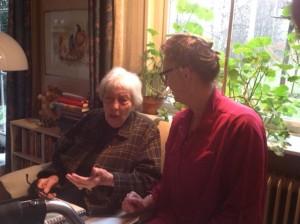 Annelies Lichtenberg en Wil Ropke